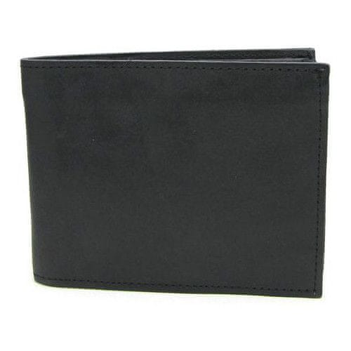 Wildskin Černá kožená peněženka 20409-Č