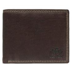 Lagen Pánská hnědá kožená peněženka Brown 614787