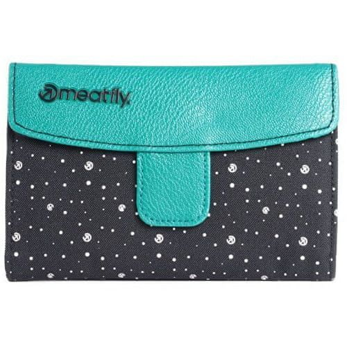 MEATFLY Peněženka Madeline Wallet E Green, Black