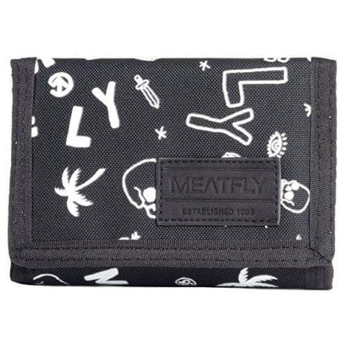 MEATFLY Peněženka Elite Wallet C Doodle