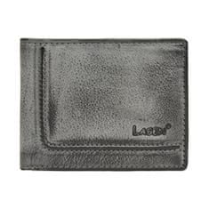 Lagen Pánská kožená šedá peněženka Grey 520