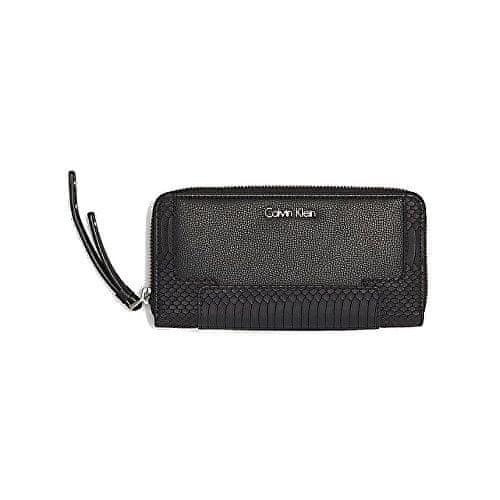 Calvin Klein Peněženka Nina Large Zip Black