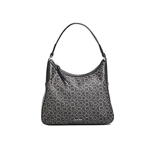 Calvin Klein Kabelka Nina Mono Large Bucket Bag Black
