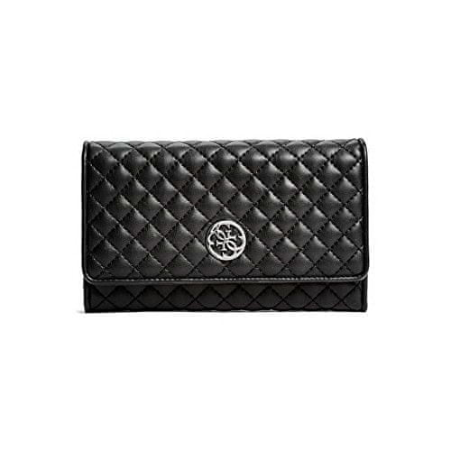 Guess Peněženka Classic Quilted Wallet and Pouch Black