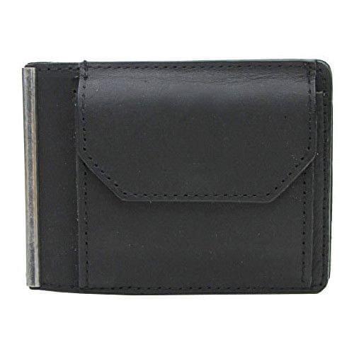 Wildskin Černá kožená peněženka 20406-C