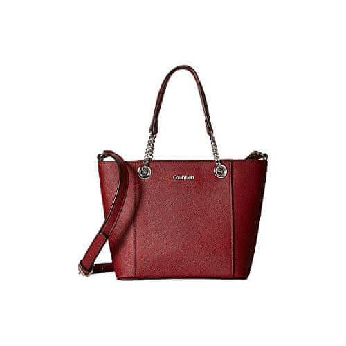 Calvin Klein Kabelka Calvin Klein Satchel Crossbody Bag red