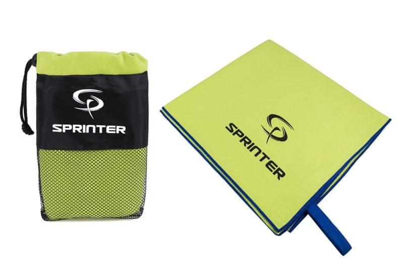 Sprinter Ručník z mikrovlákna 70x140 cm zelený