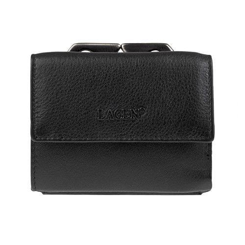 Lagen Pánská kožená peněženka 553344 Black