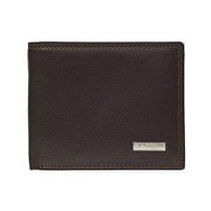 Lagen Pánská hnědá kožená peněženka Brown LG1788