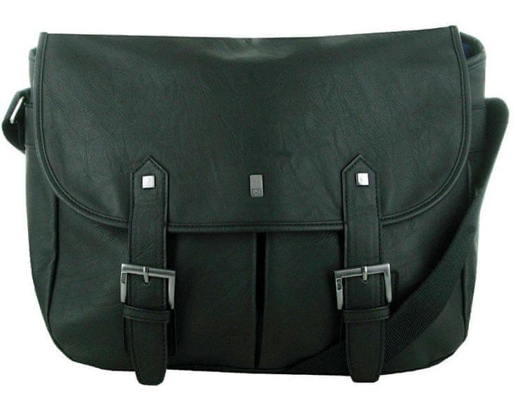 Storm Černá taška přes rameno Penrose Poacher Bag Brown STABY74