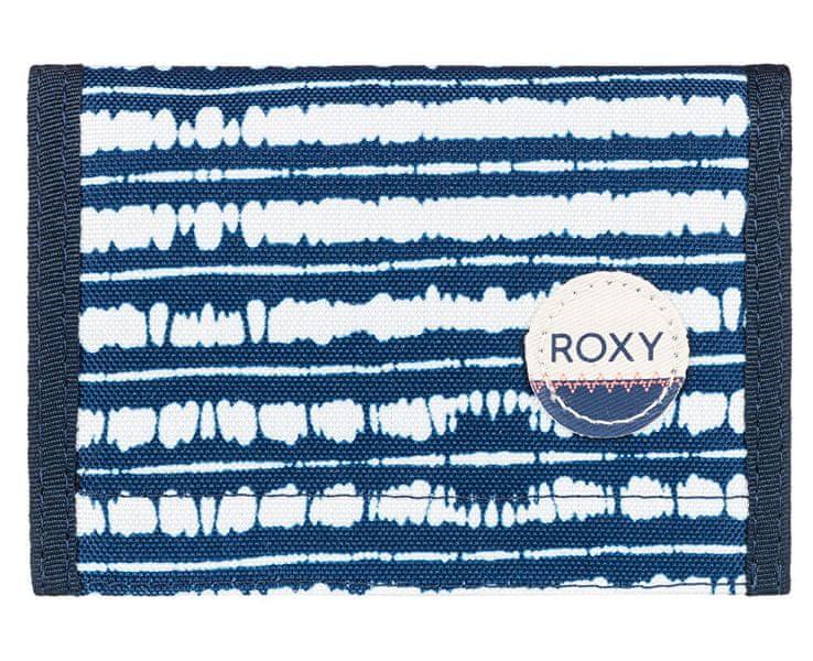 Roxy Peněženka Beach Glass Blue Depths Olmeque Stripe ERJAA03277-BTA3