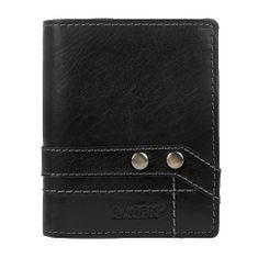 Lagen Kožená černá peněženka 558 NC/T Black