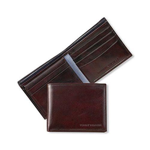 Tommy Hilfiger Pánská hnědá peněženka York Bifold