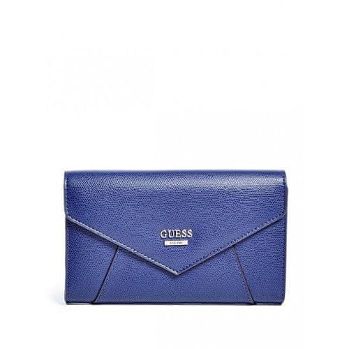 Guess Peněženka Gia Envelope Wallet blue