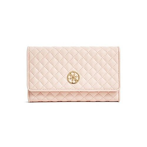 Guess Peněženka Classic Quilted Wallet and Pouch Pink