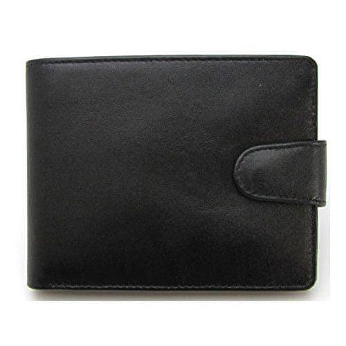 Wildskin Černá kožená peněženka 2671513ZAP