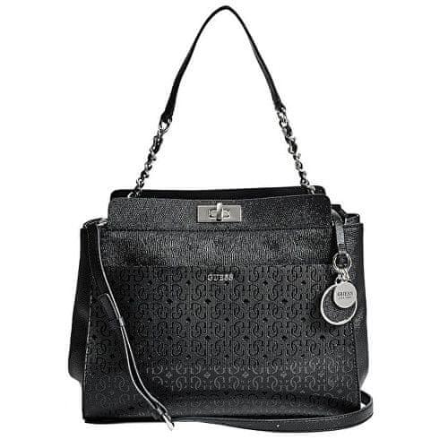 Guess Kabelka Janette Shoulder Bag Black