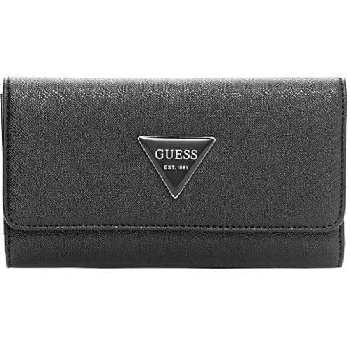 Guess Peněženka Abree Slim Wallet Black
