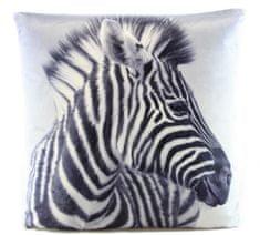 Lamps Vankúš 33 x 33 cm zebra
