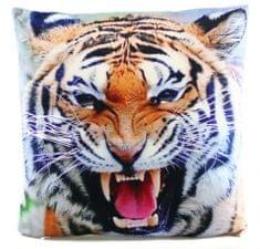 Lamps Vankúš 33 x 33 cm tiger