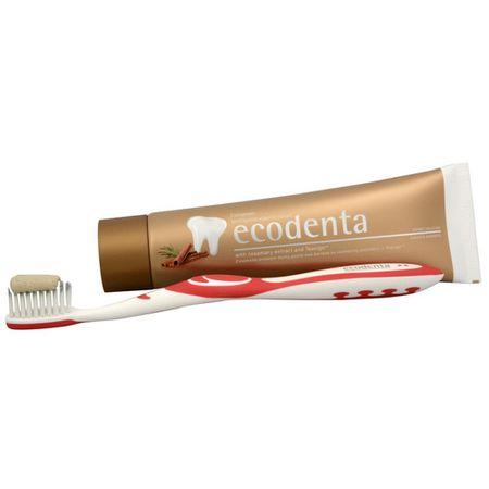 Ecodenta Škoricová zubná pasta proti vzniku zubného kazu s extraktom Teavigo 100 ml