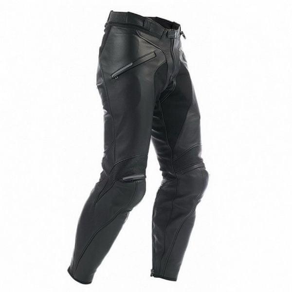 Dainese pánské kalhoty ALIEN PELLE vel.52, černé, kůže