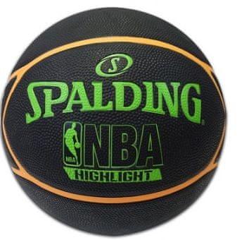 Spalding košarkarska žoga NBA Neon Highlite, št. 7