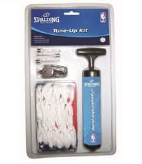 Spalding košarkarski set (tlačilka+mreža+piščalka+igle)