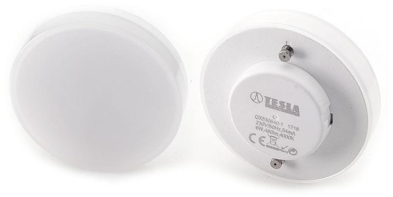 Tesla LED žárovka, GX53, 6W 2pack GX530640-1