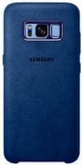 Samsung Kryt Alcantara (Samsung Galaxy S8), modrá