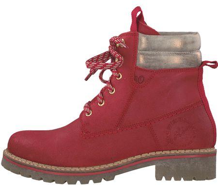 s.Oliver buty za kostkę damskie 39 czerwony