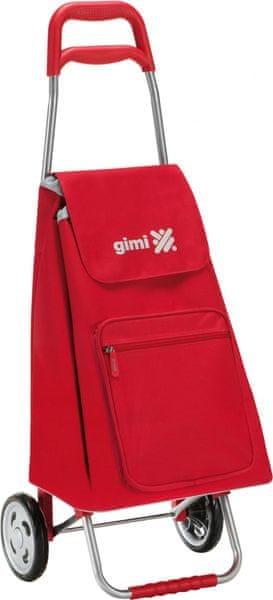Gimi Argo Nákupní taška na kolečkách 45 l, červená