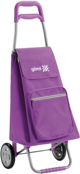 Gimi Argo Nákupní taška na kolečkách 45 l, fialová