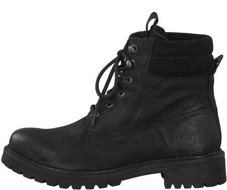 s.Oliver dámská kotníčková obuv 40 čierna