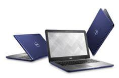 DELL prenosnik Inspiron 5567 i5-7200U/8GB/256GB/R7M445/15,6FHD/Ubuntu Linux, moder