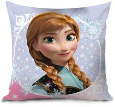 Lamps Vankúš Frozen 35 x 35 cm Anna a Elsa