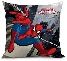 Lamps Vankúš Spiderman 35 x 35 cm