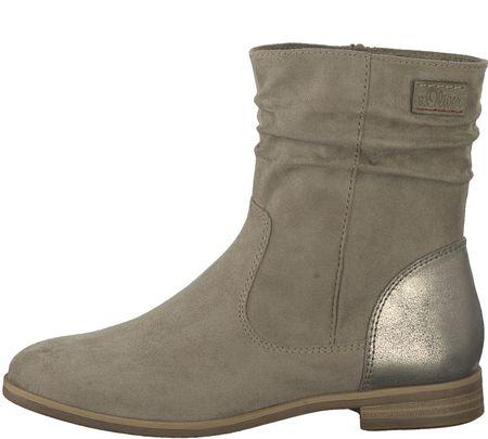 s.Oliver ženski škornji 41 siva