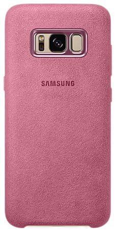 Samsung Kryt Alcantara (Samsung Galaxy S8), růžová