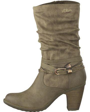 s.Oliver ženski škornji 36 kaki