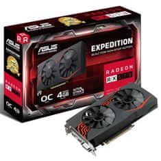 Asus grafična kartica Expedition Radeon RX 570 OC, 4GB GDDR5