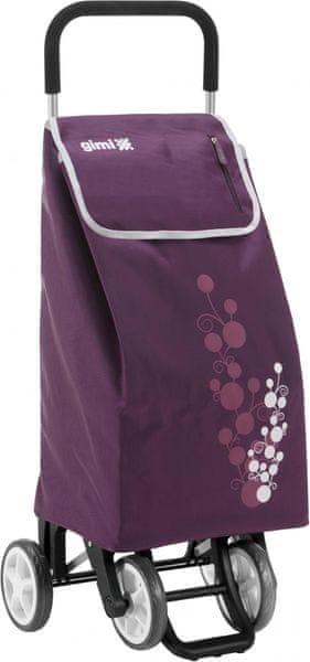 Gimi Nákupní taška na kolečkách Twin 56 l, fialová