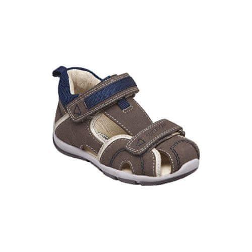 SANTÉ Zdravotní obuv dětská SK/333 khaki-blue (Velikost vel. 23)
