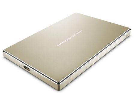 LaCie zunanji disk Porsche Design 2 TB P'9223, 2,5, USB-C 3.0, zlat