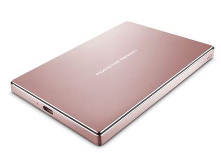 LaCie zunanji disk Porsche Design 2 TB P'9223, 2,5, USB-C 3.0, roza