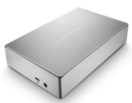 LaCie zunanji disk Porsche Design 4 TB 3,5, USB-C 3.0, srebrn