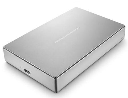 LaCie zunanji disk Porsche Design 4 TB 2,5 P'9223, USB-C 3.0, srebrn