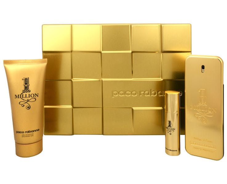 Paco Rabanne 1 Million - EDT 100 ml + EDT 10 ml + sprchový gel 100 ml