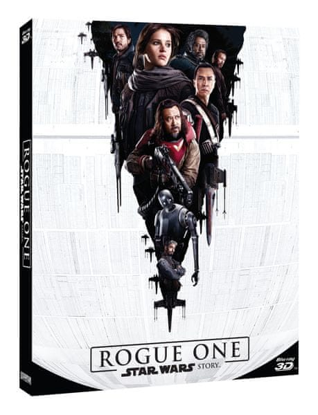Rogue One: Star Wars Story 3D (3D+2D+bonusový disk) - Blu-ray