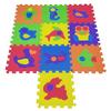 COSING Pěnová podložka Puzzle - Zvířátka 10 ks
